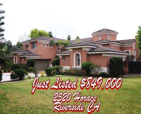 Just Listed Hawarden hills Riverside CA